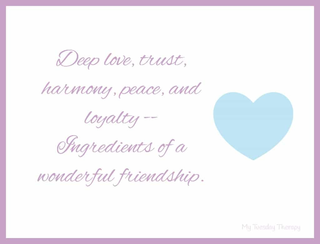 Deep love, trust, harmony, peace, and loyalty. Ingredients of a wonderful friendship. Adrenal Fatigue Recovery Tips; Party Ideas for Kids. HPA axis dysfunction.