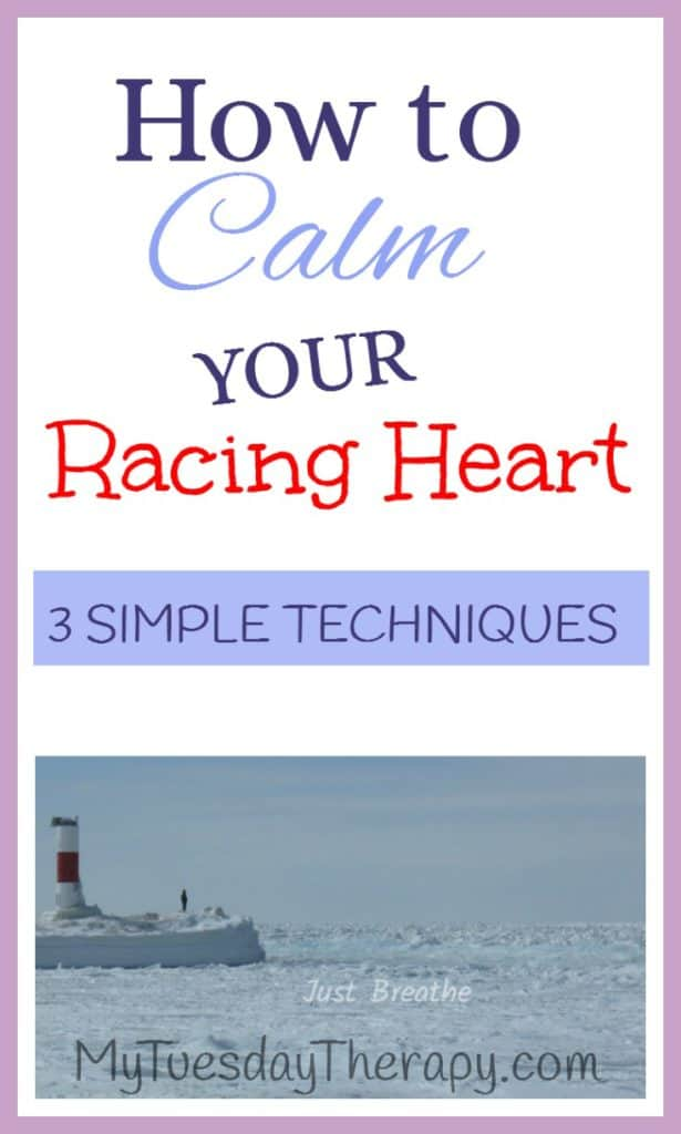 Use these breathing techniques to calm your anxious mind and racing heart. |Breathing techniques as stress relief. | Breathing exercises for anxiety. |