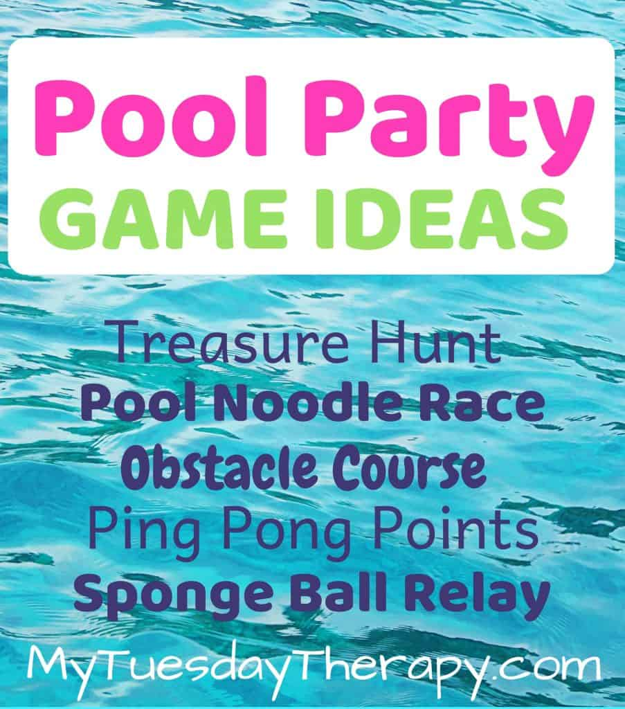 Pool Party Game Ideas!