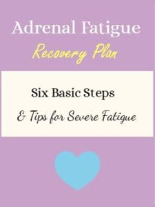 This plan helped me to recover from a severe adrenal fatigue. Click through for more ideas for adrenal fatigue recovery at https://www.mytuesdaytherapy.com/adrenal-fatigue-recovery-plan/ | Adrenal Fatigue Recovery Plan | HPA axis dysregulation |