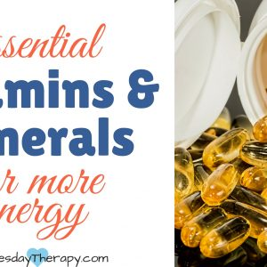 5 essential vitamins and minerals for more energy.