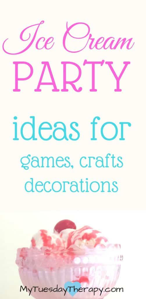 Best ideas for Ice Cream social crafts, games, decorations. Ice cream social that is simple and memorable!