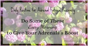 Morning Routine for Adrenal Fatigue Recovery. Do some of these Every Morning to give your adrenals a boost. | HPA axis dysfunction