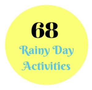 Rainy Day Activities. Summer Fun. Indoor Activities. Family Fun.