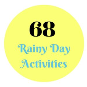 Rainy Day Activities to Make the Day Shine