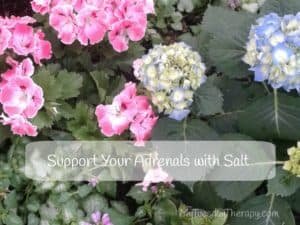 Sea Salt Aids in Adrenal Fatigue Recovery