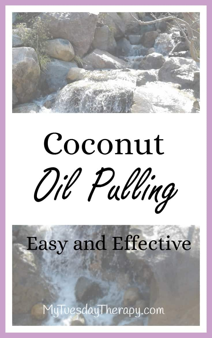 How to do coconut oil pulling. Coconut oil pulling was part of my daily routine for severe adrenal fatigue. | Natural Remedies | HPA axis dysregulation |