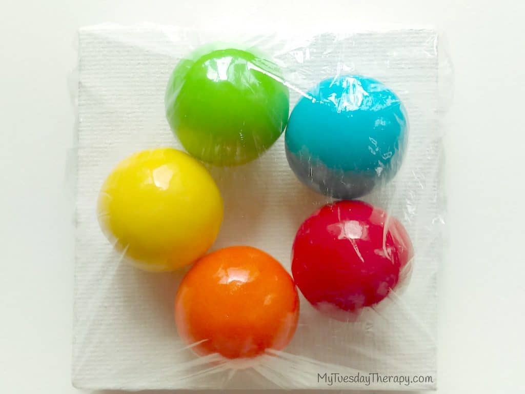Fairy Art Party Favor - Paint Balls | Click through for Fairy Party Ideas | Fairy Party Games | Fairy Party Invitation Free | Fairy Party Food |