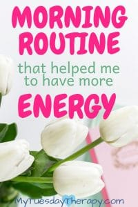 Healthy Morning Routine for More Energy