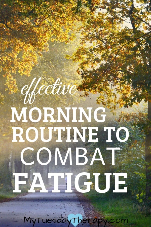 Effective Morning Routine to Combat Fatigue. These mornign routine ideas helped me in healing adrenals.
