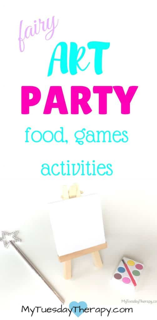 Fairy party ideas! Food, games, activities!