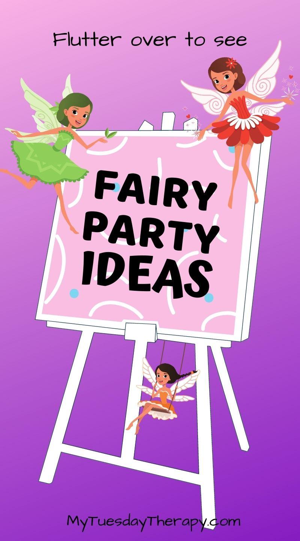 Fairy Art Party Ideas