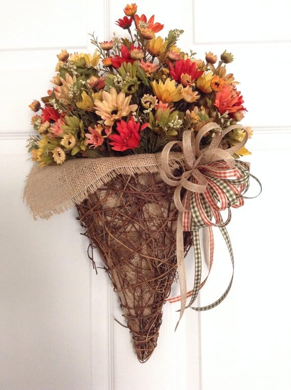 Fall Party Decorations. Fall bouquet.