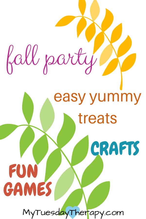 Fall Party Ideas For Kids.
