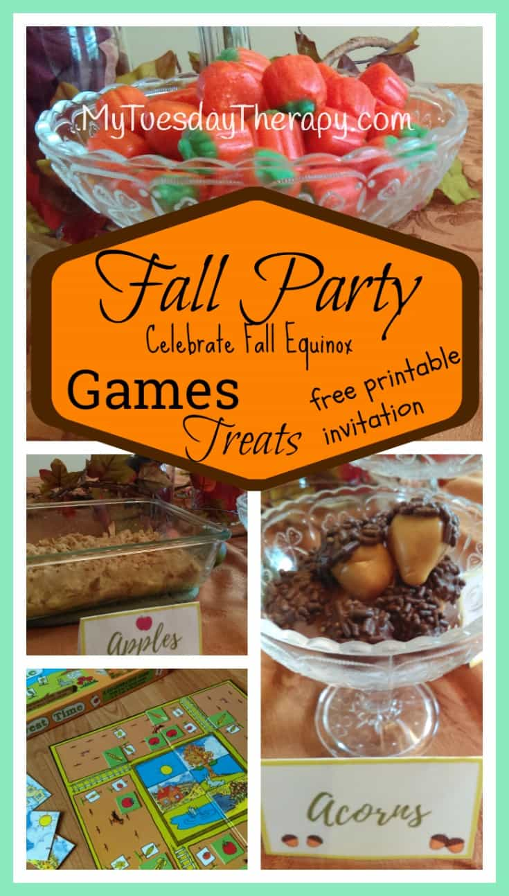 easy fall party for kids make it a tradition my tuesday therapy. Black Bedroom Furniture Sets. Home Design Ideas