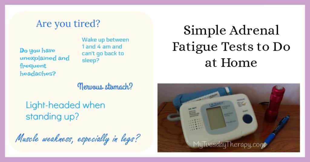 Simple Adrenal Fatigue Tests to do at Home. | Adrenal Fatigue Symptoms | Hpa axis dysregulation |