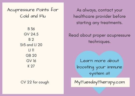 Natural Remedies for Cold and Flu | Acupressure Points for cold and flu | #acupressure #naturalremedies #immunesystemboost