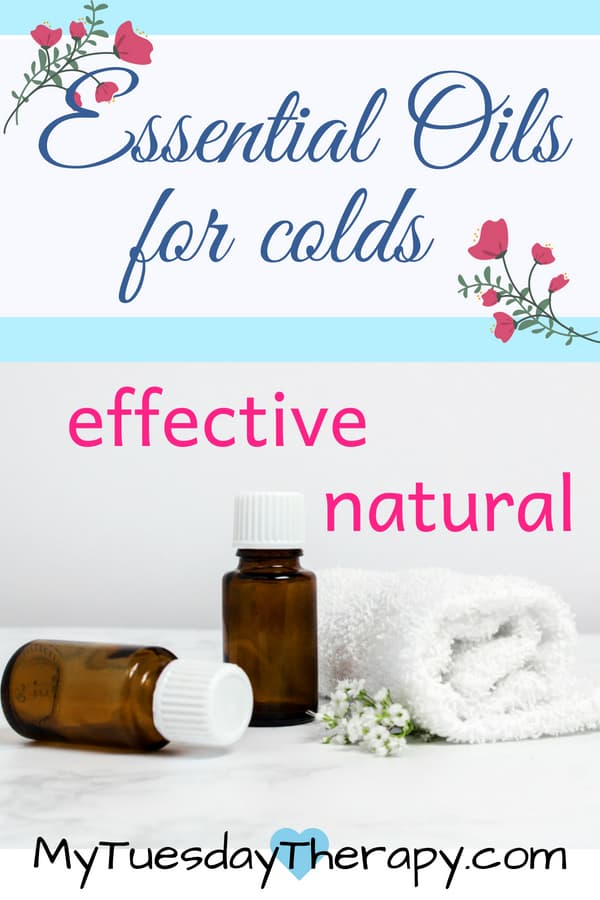 Essential Oils for colds. These essential oils have worked well in our family.