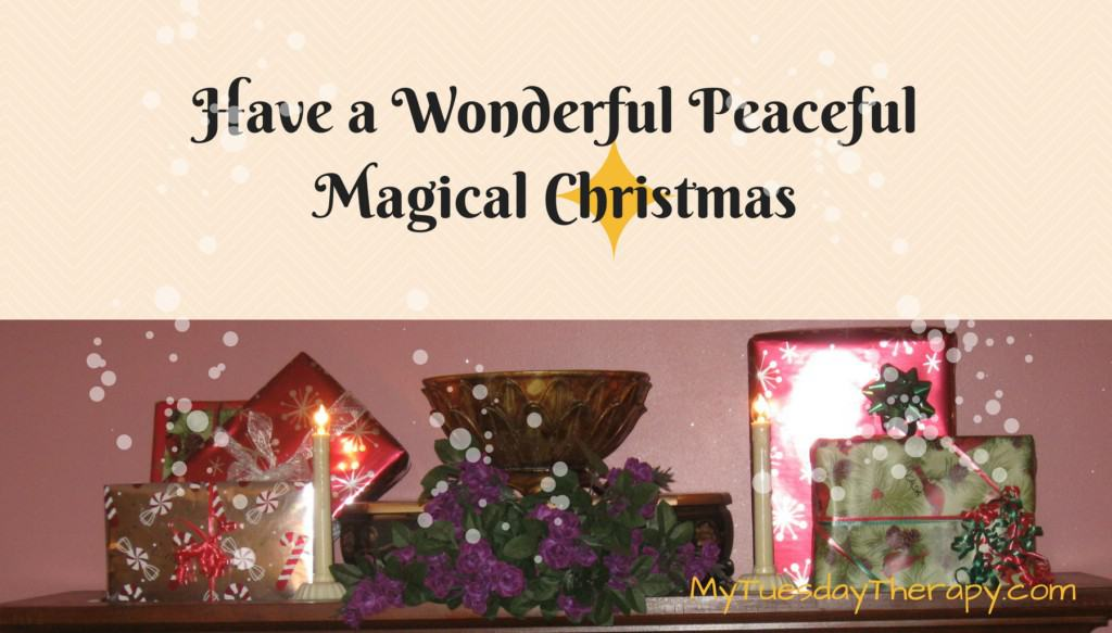 Have a wonderful, peaceful magical Christmas!