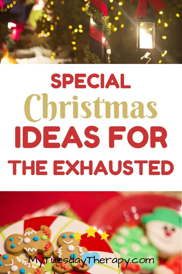 Sick At Christmas. Ideas for those who have chronic illness.