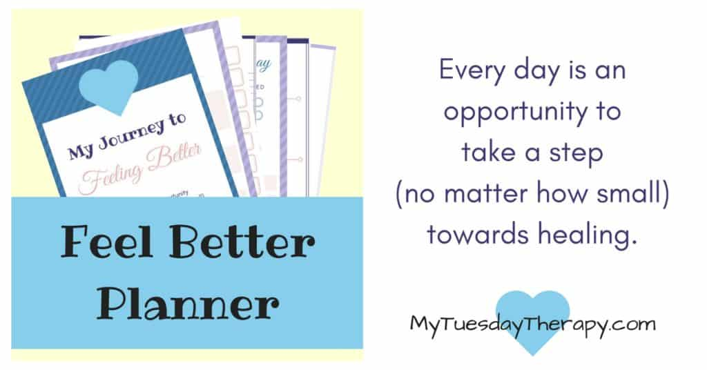 Feel Better Planner. Every day is an opportunity to take a step (no matter how small) towards healing.My Journey to Feeling Better. 20 unique pages to help you to create a plan for your health. | Recovery Journal | Health Plan | Chronic Illness | #adrenalfatigue #chronicillness #fibromyalgia #hpaaxisdysfunction