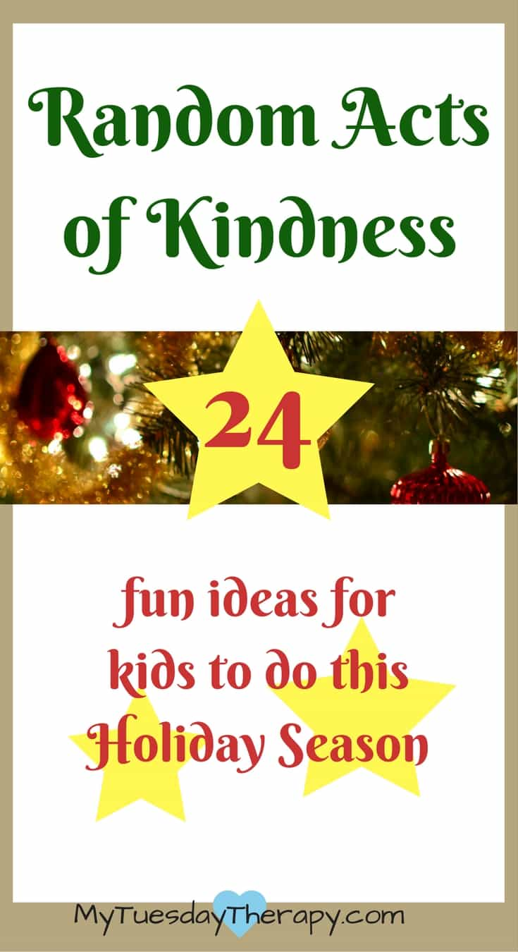 Fun and awesome ideas for Random Acts of Kindness | Holidays | Christmas | Christmas for Kids | #Christmas #Christmasideas #randomactsofkindness