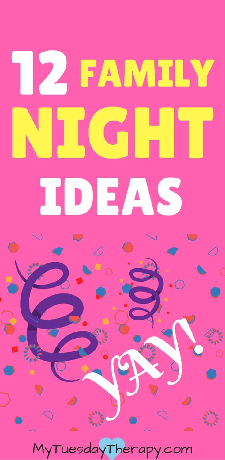 You'll LOVE these family night ideas! | #familyfun