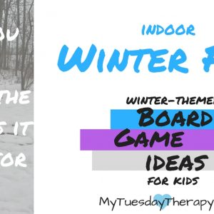 These winter themed board games are so cool! | Snow Day | Indoor Activities for Kids | #rainyday #kidsactivities #boardgames