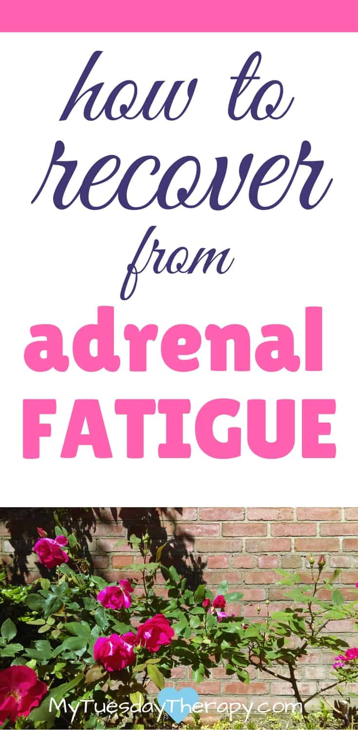 This plan helped me to recover from a severe adrenal fatigue. In this post you will find a list of effective natural treatments for adrenal fatigue. #adrenalfatigue #chronicfatigue #fibromyalgia #chronicillness #naturalremedies
