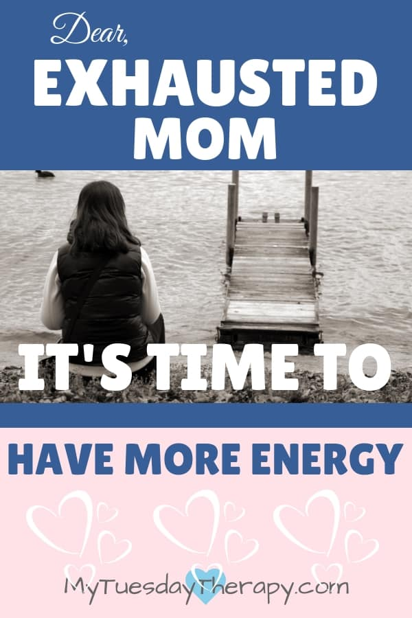 Exhausted Mom: It's Time to Have More Energy. Whether you are physcially, mentally, or emotionally exhausted healing is possible. Have more energy and enjoy the motherhood.
