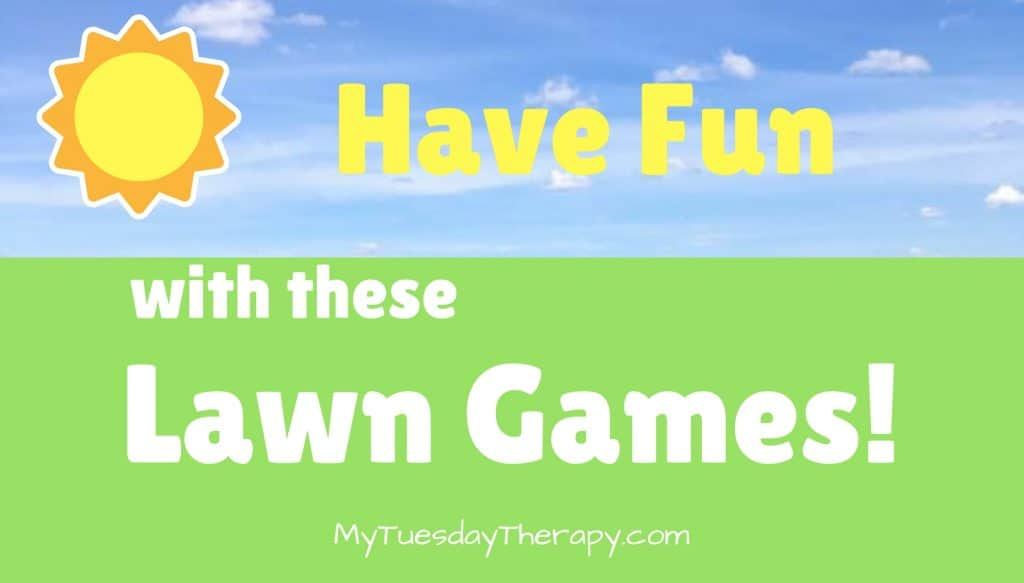 Have Fun with These Lawn Games! A sunny sky and a field.