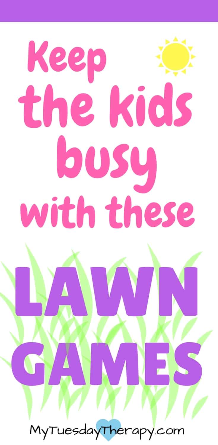 These lawn games are awesome for the whole family. They will keep the kids outdoors enjoying the sunshine and moving around. | #summerfun #kidsactivities #familyfun