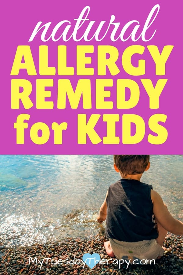 Natural allergy relief for kids.