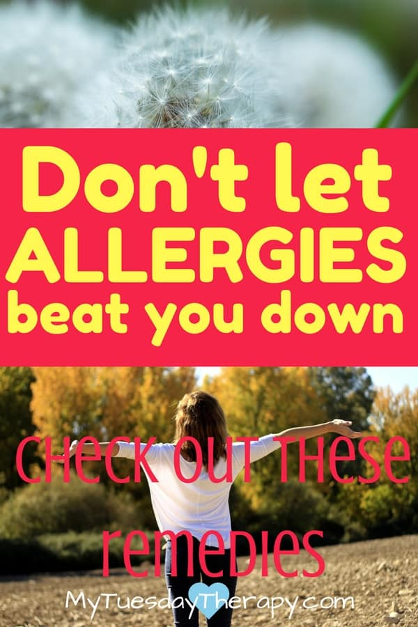 It is that time of year again! Strengthen your immune system and fight the symptoms with these natural allergy remedies. #allergies #naturalremedies #allergyrelief