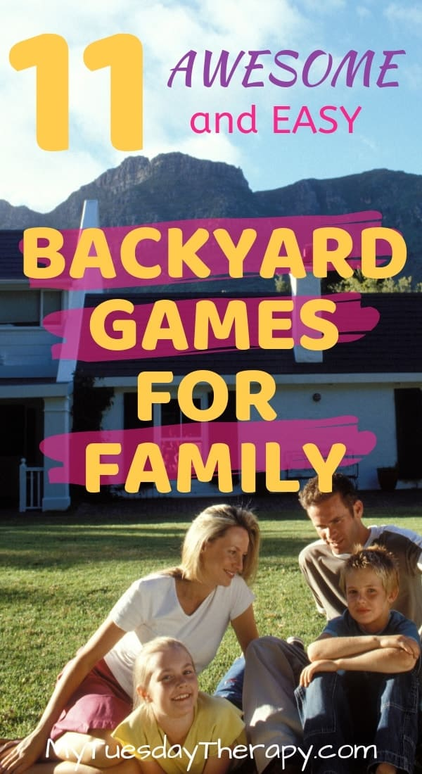 Backyard Games for Family. Jumbo games, easy games...