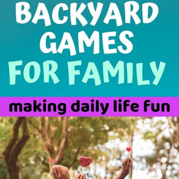 Fun backyard games for family