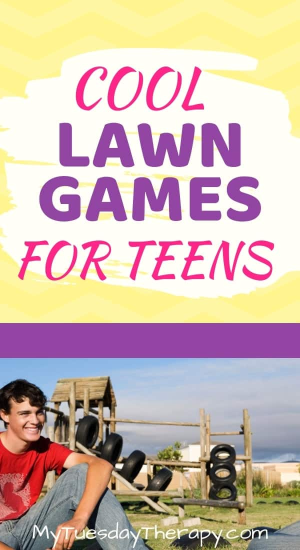 Cool Lawn Games for Teens.