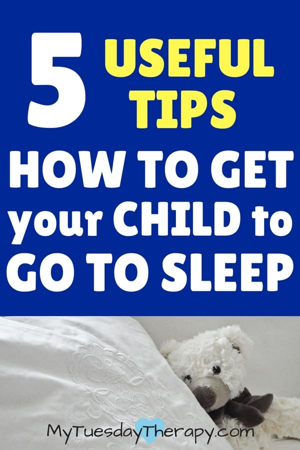 Helpful simple tips on how to get your child to sleep.