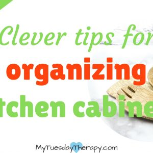 Clever tips for organizing kitchen cabinets.