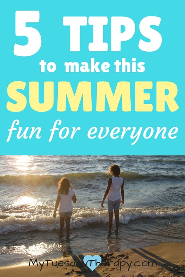 Summer should be fun for everyone! Enjoy the summer with these ideas on road trips, easy meals, boredom busters etc. #summerfun #boredombusters