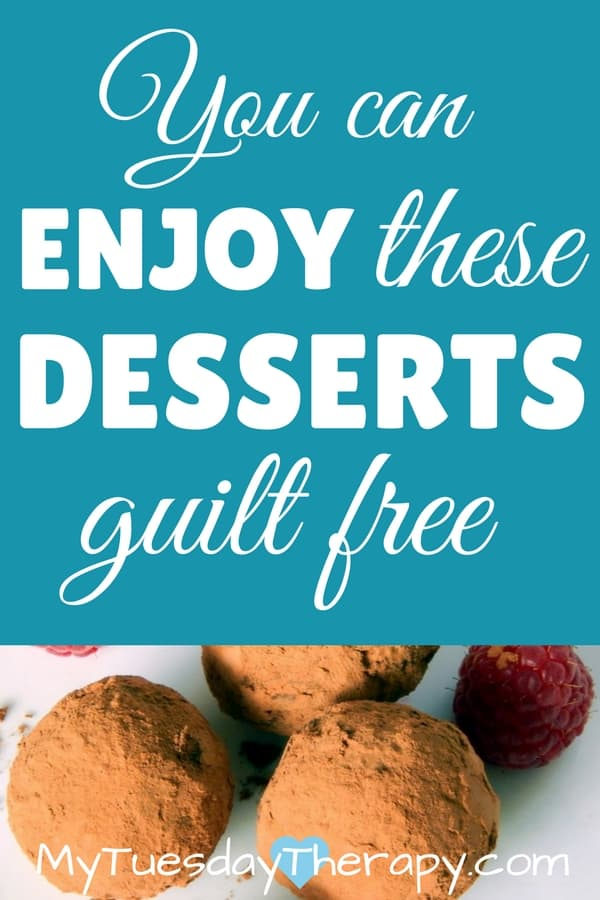 These healthy desserts will be an amazing ending to your gut friendly meal!