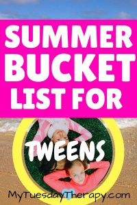 Summer fun for tweens!
