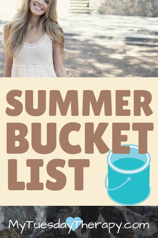 These summer bucket list ideas will give your teens or tweens plenty to do this summer!