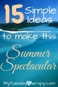 Simple summer bucket ideas to make this summer spectacular!