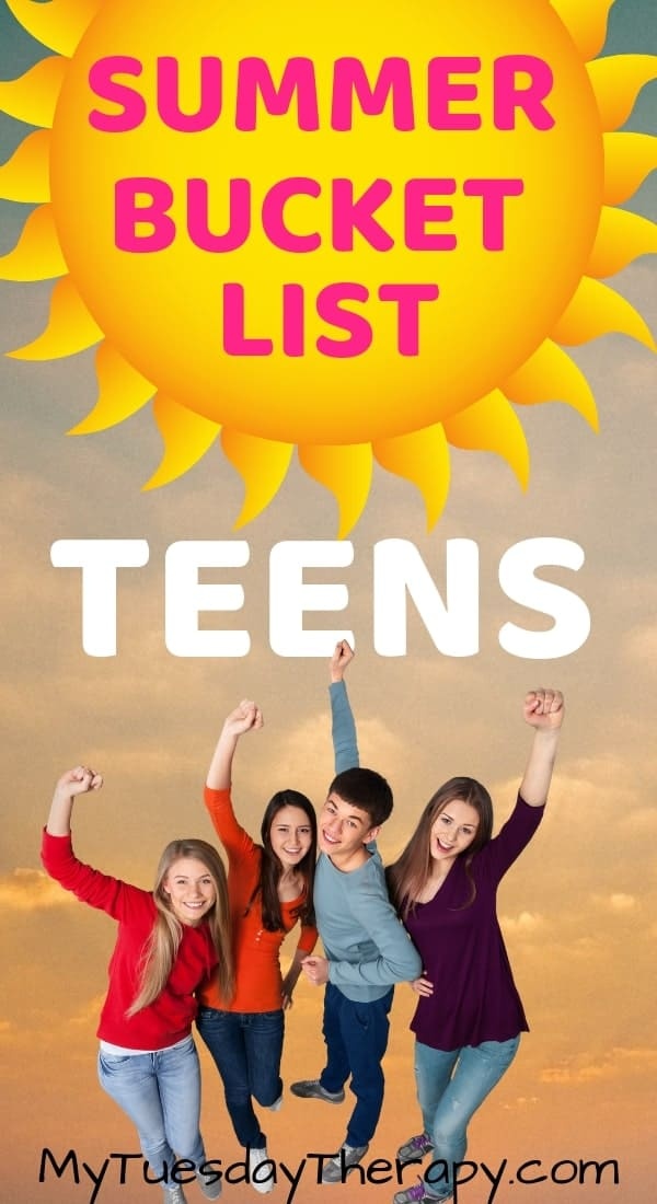 Summer Bucket List For Teens and Tweens