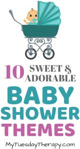 Sweet and Adorable Baby Shower Themes