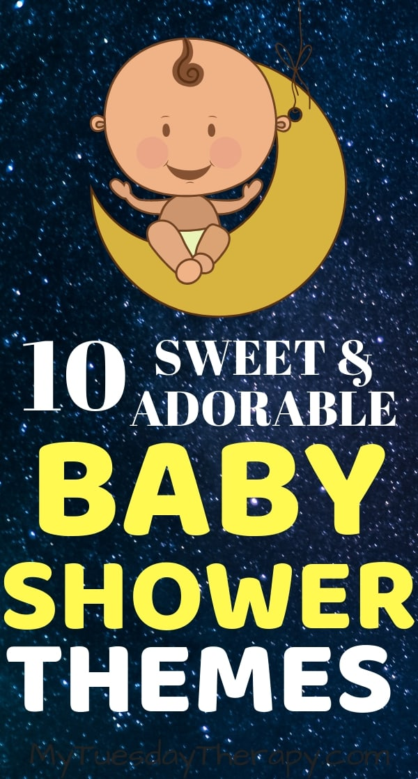 10 Sweet and Adorable Baby Shoer Themes.