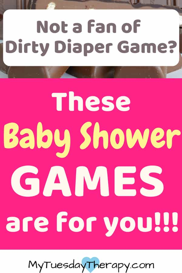 Fun baby shower games. These baby shower game printables and creative activites will delight the guests and the mom-to-be.