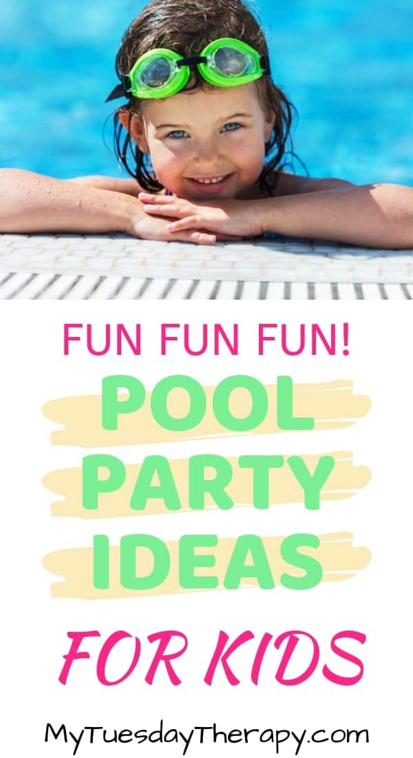 It is time to celebrate the summer with a Pool Party! Your kids will love this party! They will bask in the sun, play hilarious pool party games, and enjoy yummy easy pool party food. You\'ll be happy to host it with these simple pool party decoration ideas.