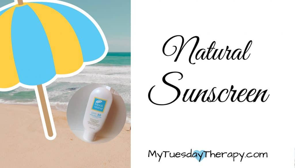 Natural Sunscreen Fragrance Free for face and body. Safe for babies too.